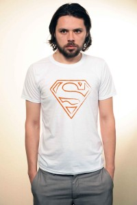 Tricou Orange Superman