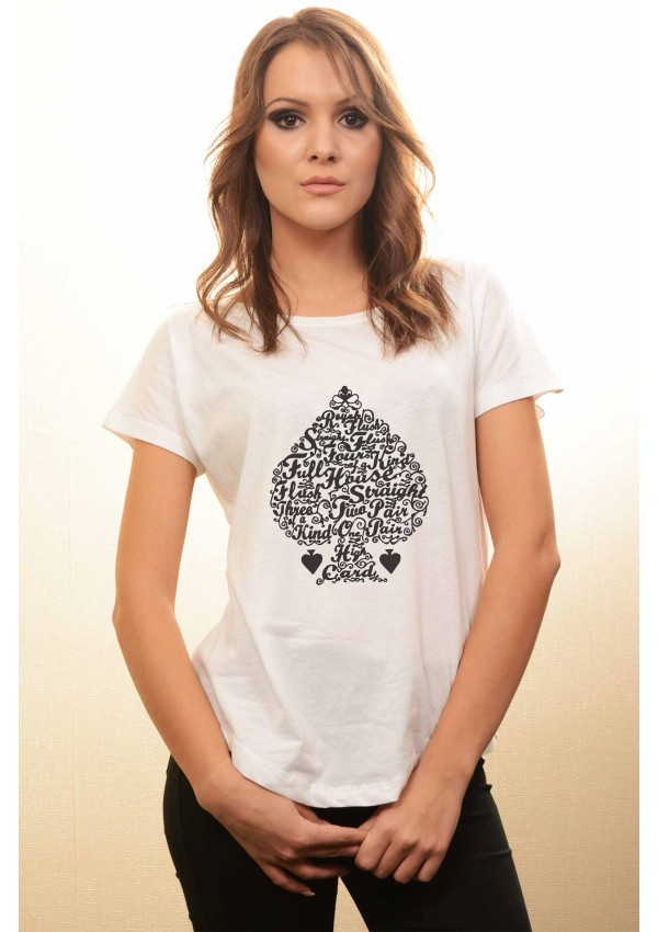 Tricou Loose Fit Poker Hands